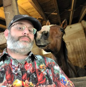 Me with horse